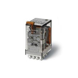 Miniatuurrelais met 2 wisselcontacten, zonder relaisvoet