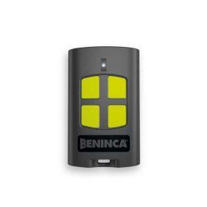 Beninca TO.GO4VA handzender, 4 kanaals, zwart, niet kloonbaar