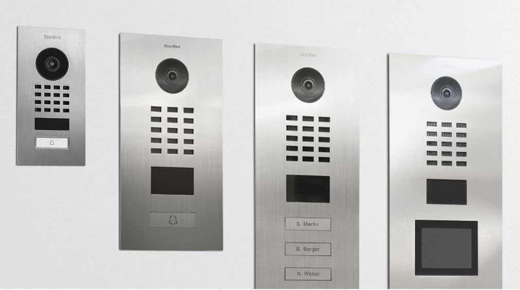 DoorBird IP video intercom, video deurbel Wifi Smartphone
