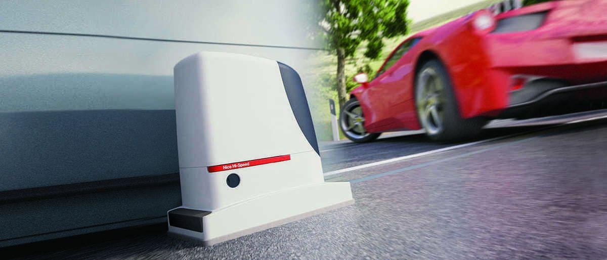 NICE high speed ondergrondse poortopener - Porttech