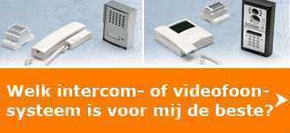 Videx intercomsystemen en Videx videofoonsystemen