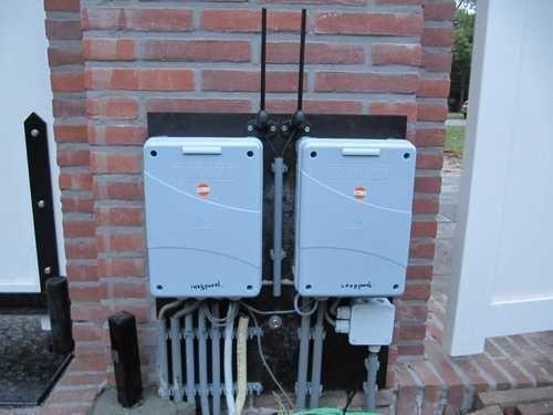 Installatie poortopener hekopener intercom videofoon systemen